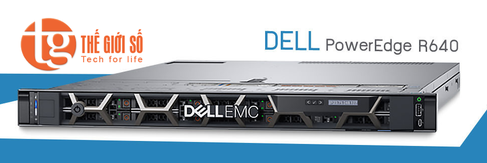 MÁY CHỦ DELL POWEREDGE EMC R640