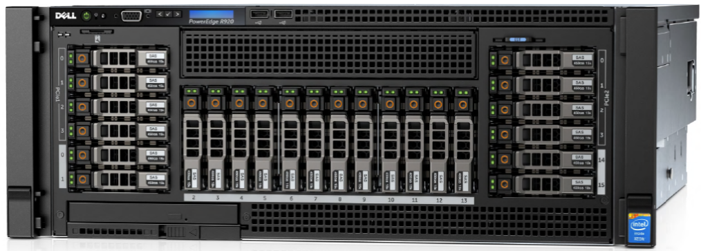 MÁY CHỦ SERVER DELL POWEREDGE R920 E7-8893 V2 PROCESSOR 3.4GHZ
