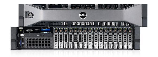 MÁY CHỦ DELL R720 E5-2670v1 Processor 8 core/ 16 thread 2.6 GHz