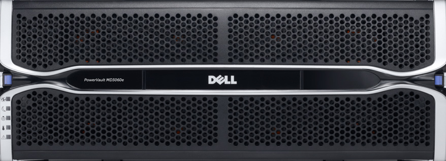 MÁY CHỦ DELL POWERVAULT MD3060E DENSE ENCLOSURE STORAGE