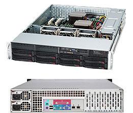 LifeCom Storage 2U 8-bay X9 SC825 E3-v2