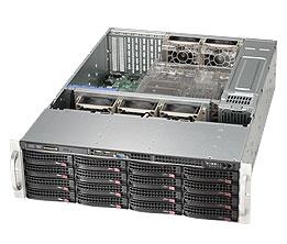LifeCom Storage 3U 16-bay X9 SC836 E3-v2