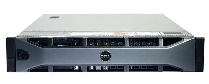 MÁY CHỦ DELL POWEREDGE R720XD - E5-2620V2 2.1GHz