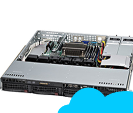 Máy Chủ Server Supermicro Cloud - Profesional Package 02(10VM, 2.5TB) E5 Series S043