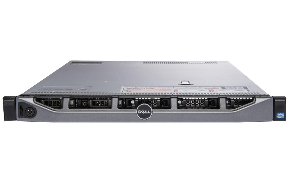 MÁY CHỦ DELL R620 XEON 2 x E5 2670 v1 RAM 32G SAS 300G RAID H710 1U